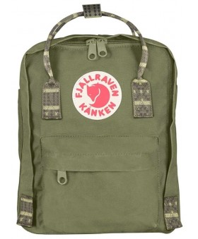 Рюкзак Fjallraven Kanken Mini 7L Green/Folk Pattern