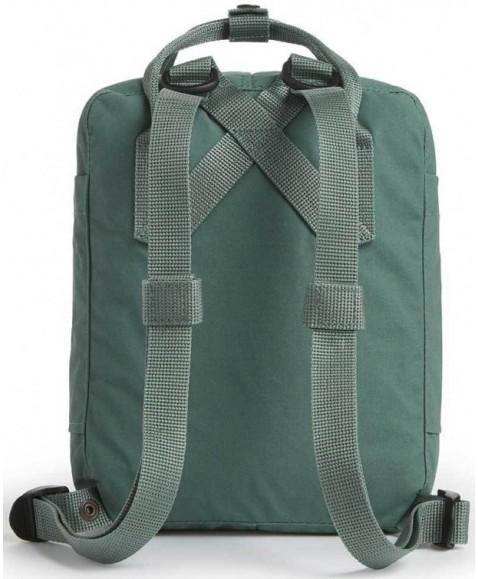 Рюкзак Fjallraven Kanken Mini 7L Green/Folk Pattern