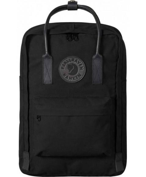 Рюкзак Fjallraven Kanken No.2 18L Laptop 15 Black Edition