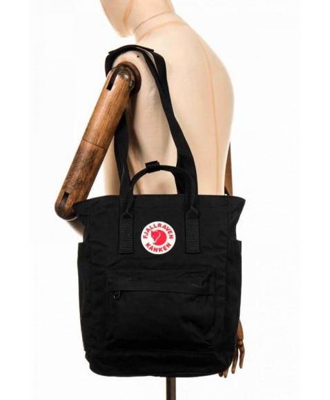 Сумка-рюкзак Fjallraven Kanken Totepack 14L Black