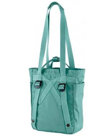 Сумка-рюкзак Fjallraven Kanken Totepack Mini 8L Frost Green