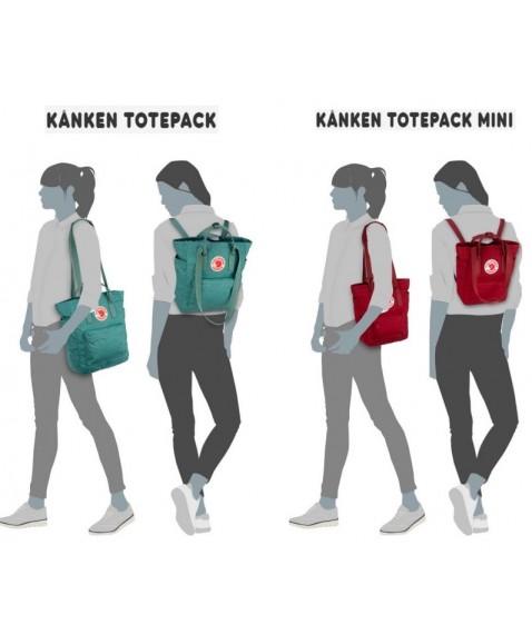 Сумка-рюкзак Fjallraven Kanken Totepack Mini 8L Fog
