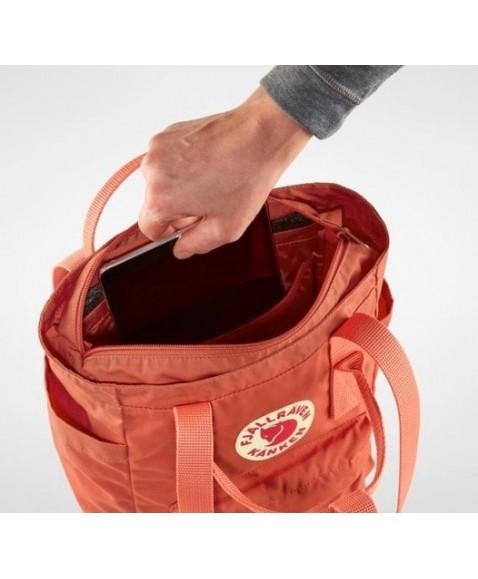 Сумка-рюкзак Fjallraven Kanken Totepack Mini 8L Ochre
