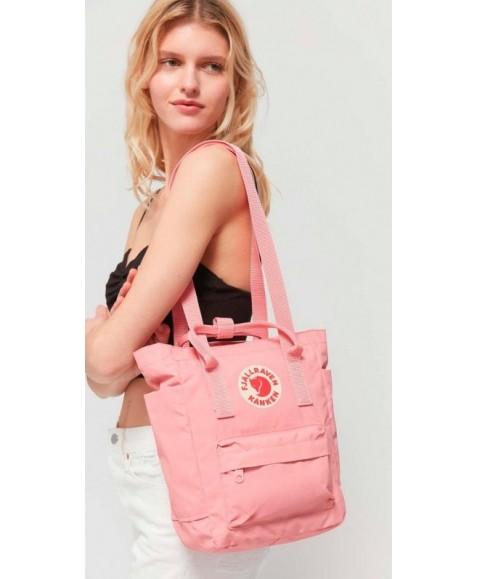 Сумка-рюкзак Fjallraven Kanken Totepack Mini 8L Pink