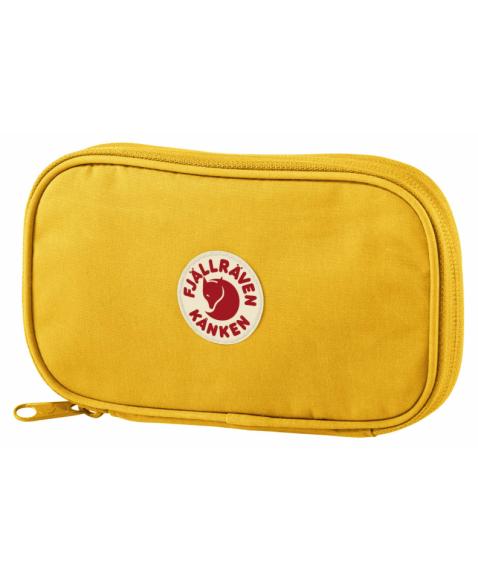 Кошелек Fjallraven Kanken Travel Wallet Warm Yellow
