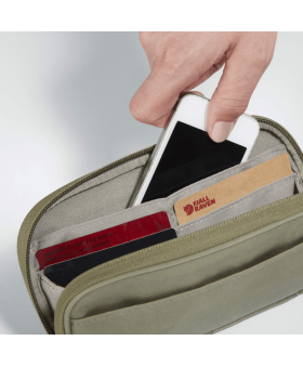 Кошелек Fjallraven Kanken Travel Wallet Frost Green