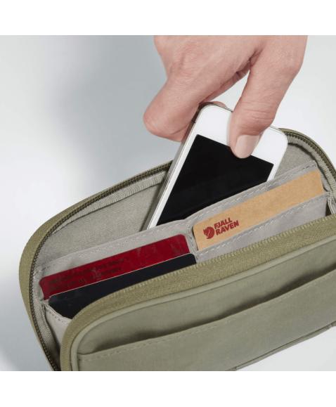 Кошелек Fjallraven Kanken Travel Wallet Black