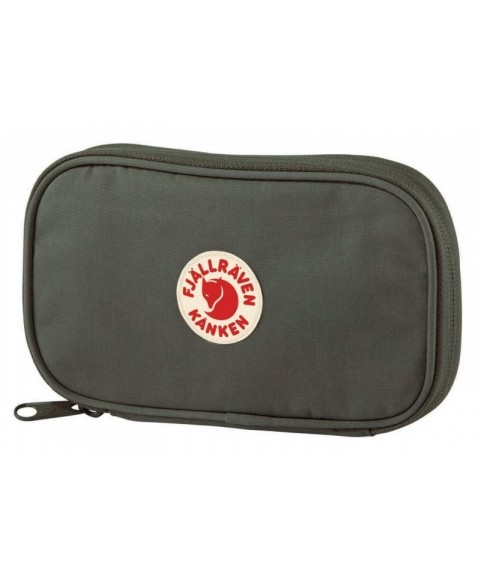 Кошелек Fjallraven Kanken Travel Wallet Deep Forest