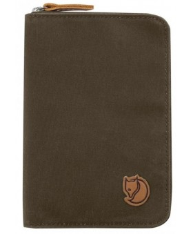 Кошелек Fjallraven Passport Wallet Dark Olive