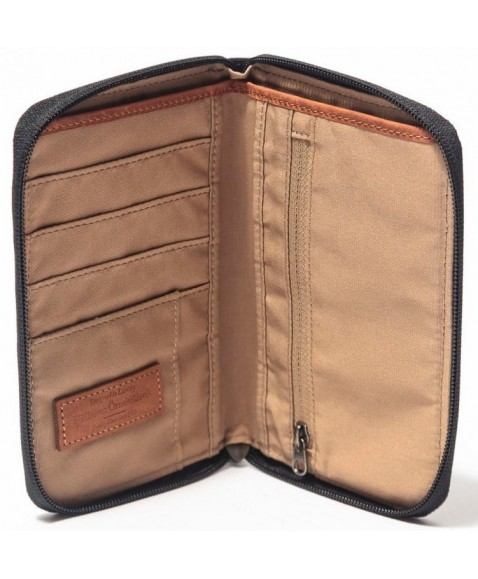 Кошелек Fjallraven Passport Wallet Dark Grey