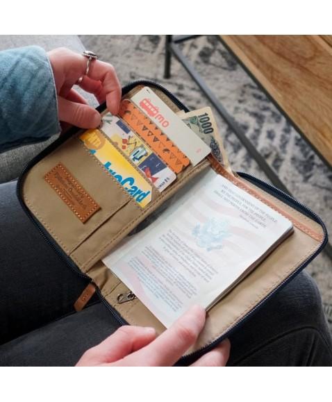 Кошелек Fjallraven Passport Wallet Blue Ridge