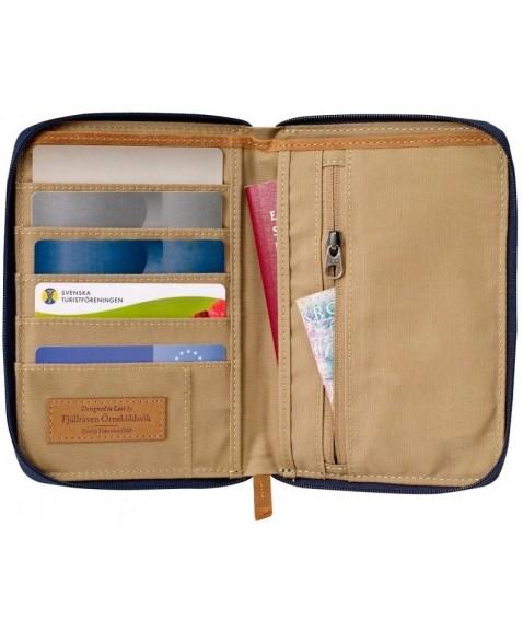 Кошелек Fjallraven Passport Wallet Chestnut