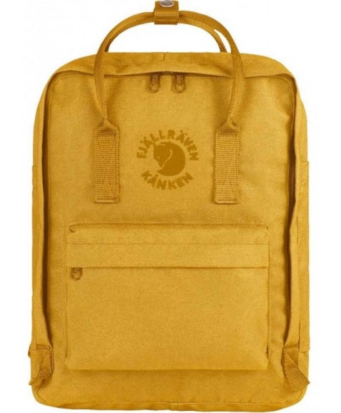 Рюкзак Fjallraven Re-Kanken 16L Sunflower Yellow