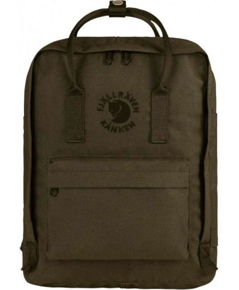 Рюкзак Fjallraven Re-Kanken 16L Dark Olive