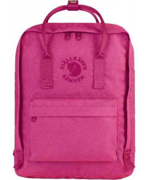 Рюкзак Fjallraven Re-Kanken 16L Pink Rose