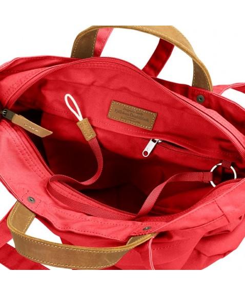 Сумка-рюкзак Fjallraven Totepack No.1 14L Dahlia