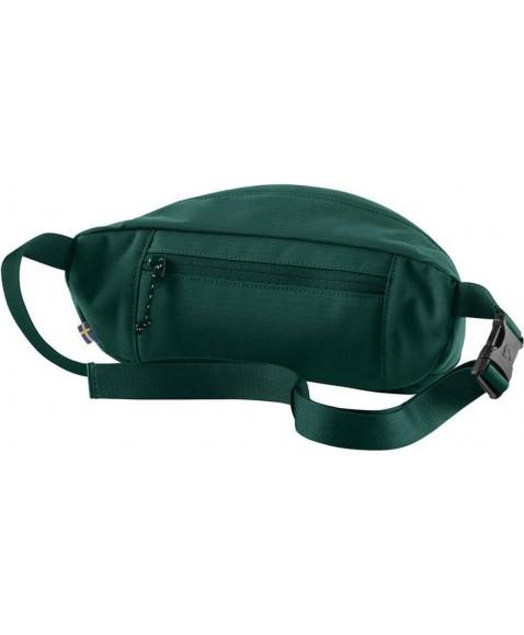 Сумка на пояс Fjallraven Ulvo Hip Pack Large Peacock Green